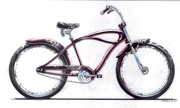 Moto Glide - Dyno Cruiser Bicycles