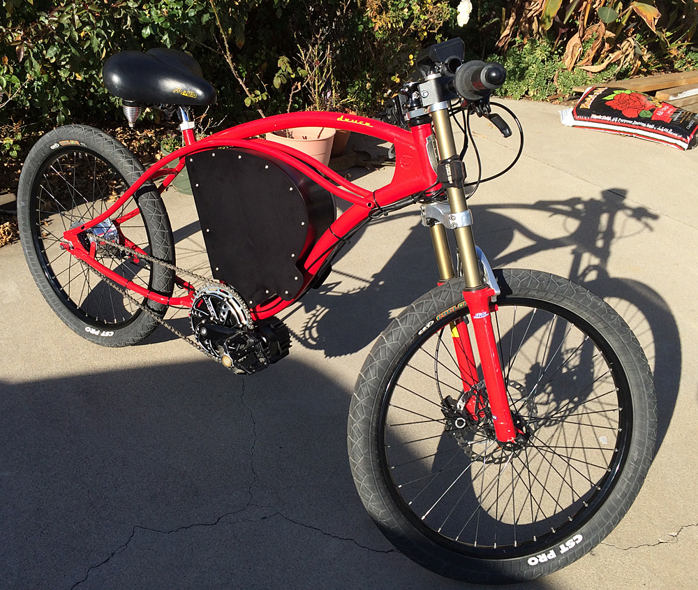 DYNO Electric Bicycles Custom Built Dyno Electric Bicycles for sale.