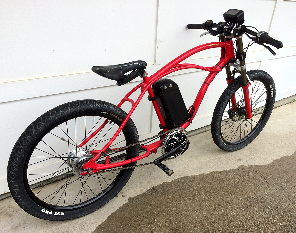 DYNO Electric Bicycles for sale - Custom Built Dyno Electric